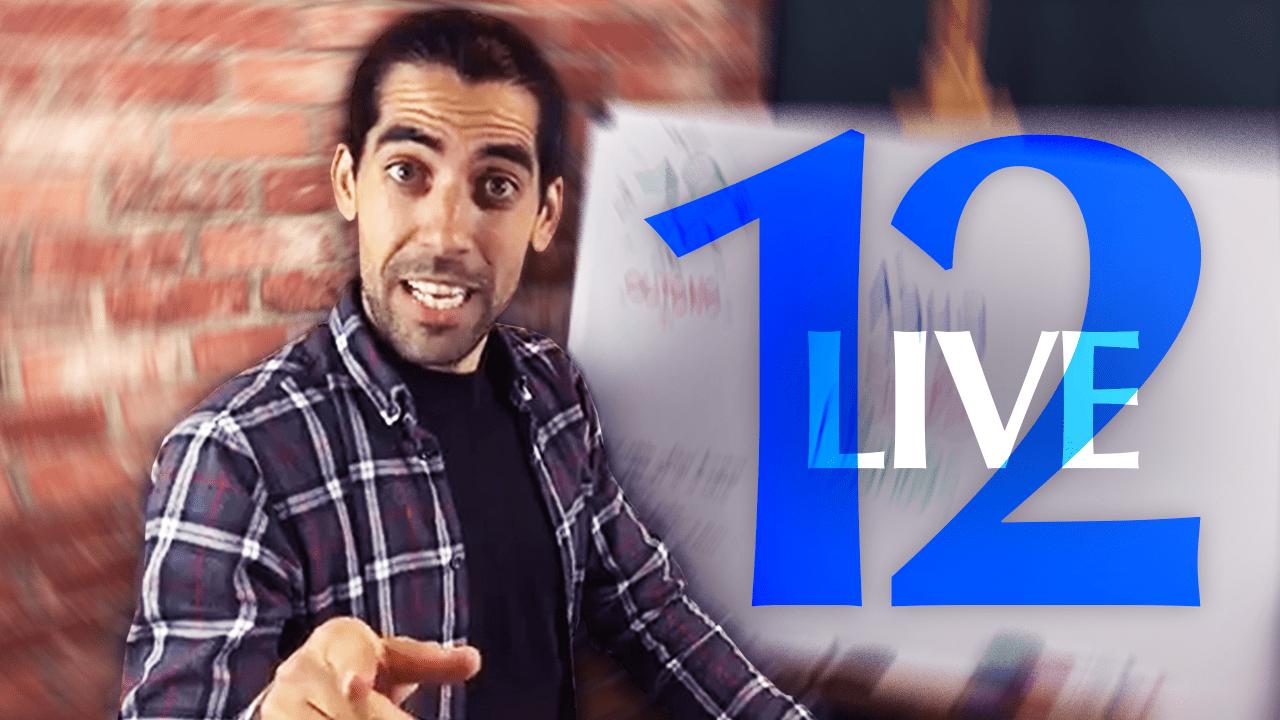 Facebook live episódio 12