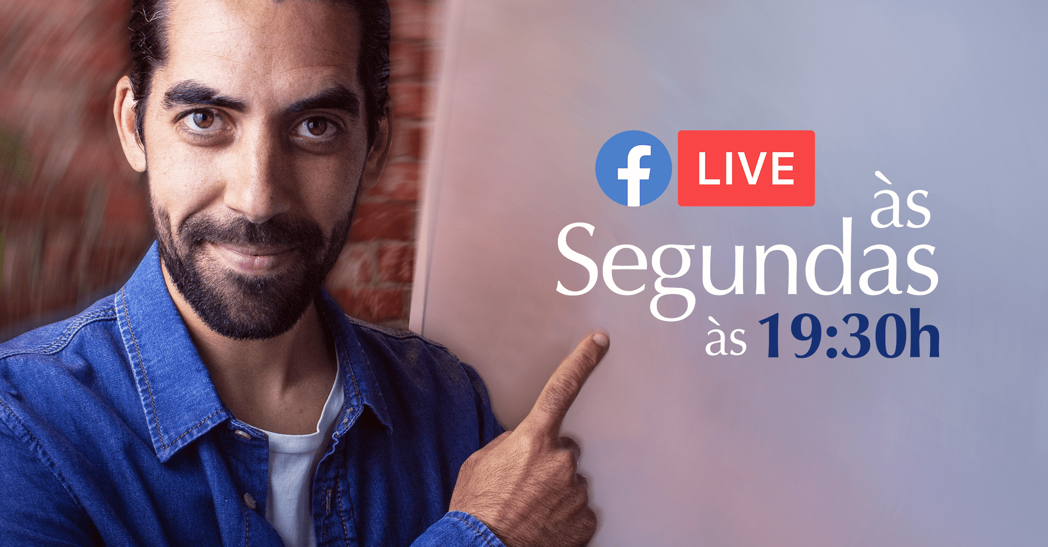 Live semanal no facebook